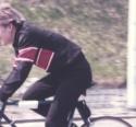 1981 04 01 Fietsen 001 Tonnie Op Weg Naar Zolder