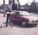 1981 04 01 Fietsen 002 Tonnie Op Weg Naar Zolder