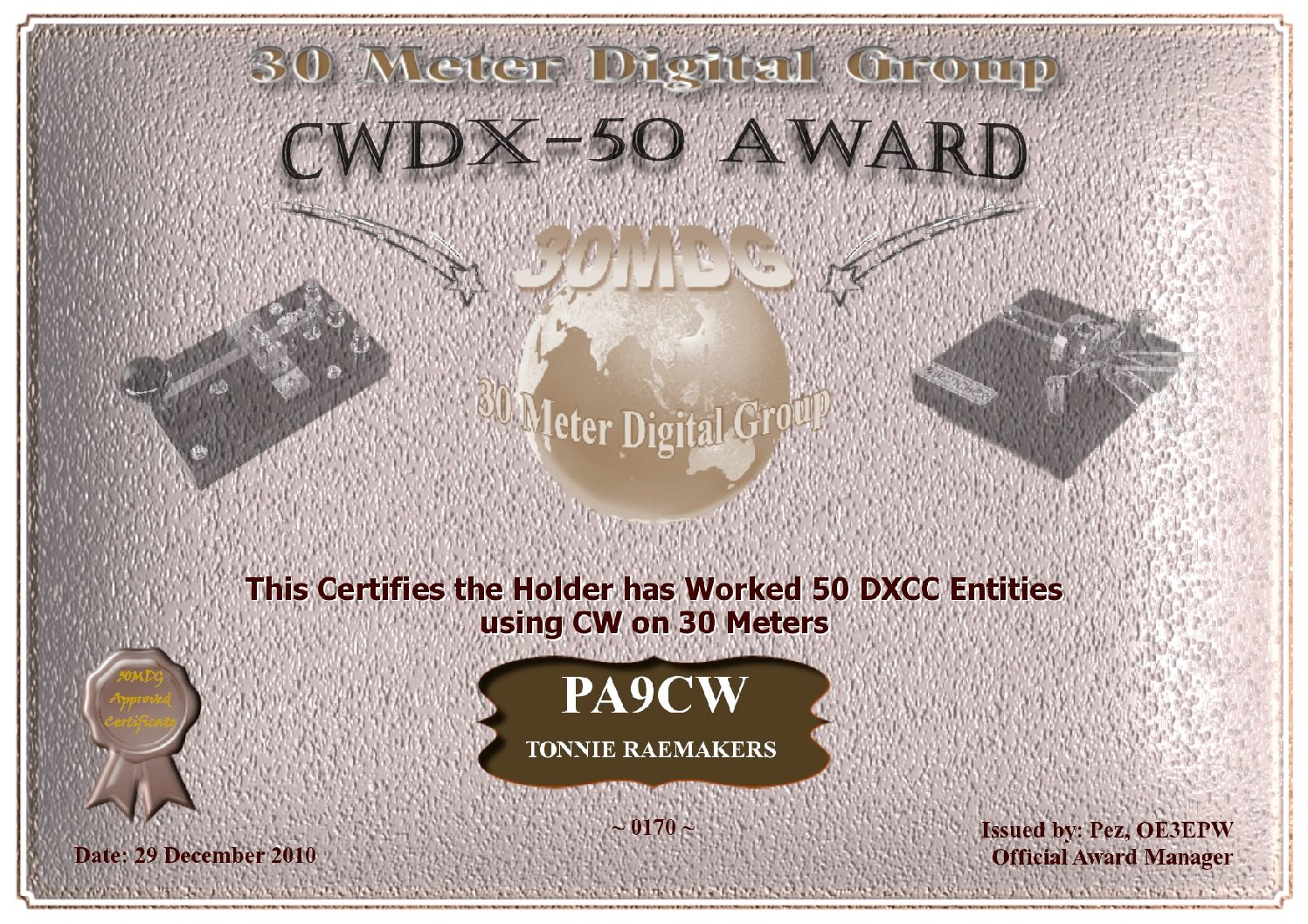 Pa9Cw-30Mdg-Cw-Dx-50-Certificate