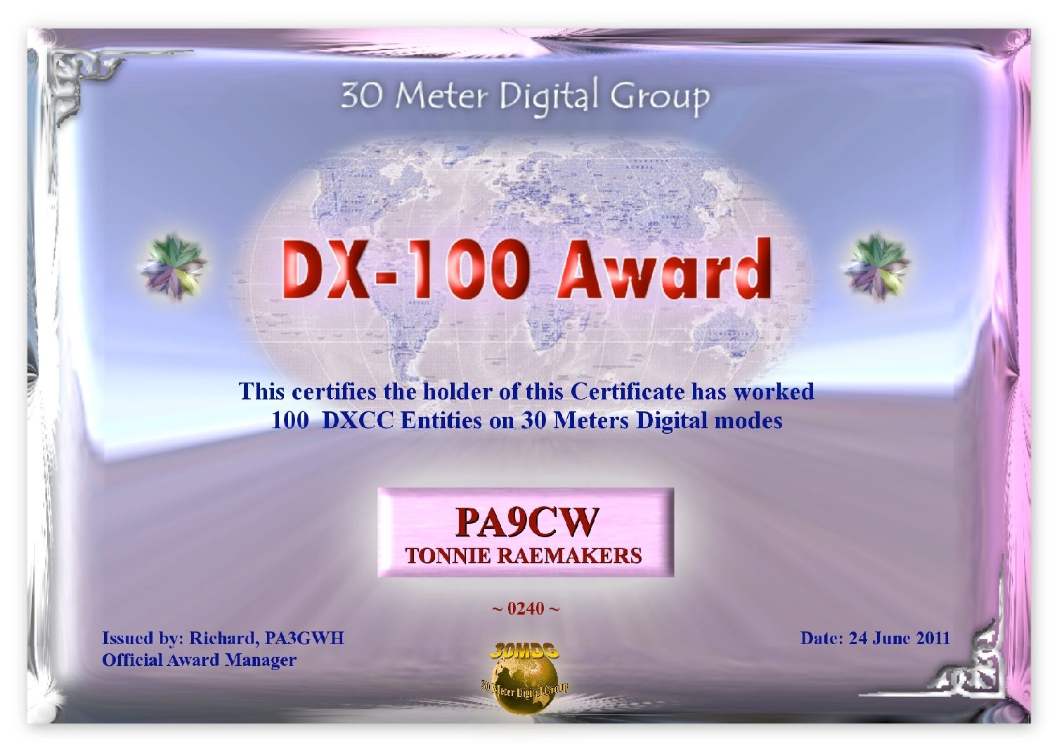 Pa9Cw-30Mdg-Dx-100-Certificate