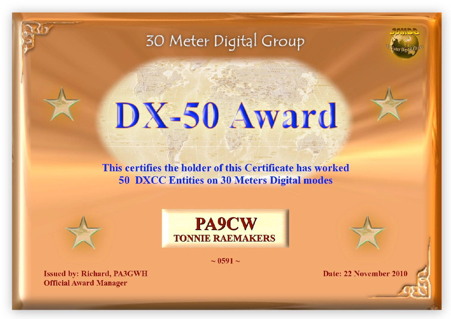Pa9Cw-30Mdg-Dx-50-Certificate